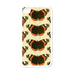Butterfly Butterflies Insects Apple Iphone 4 Case (white)