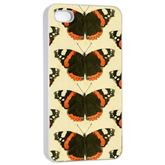 Butterfly Butterflies Insects Apple Iphone 4/4s Seamless Case (white)
