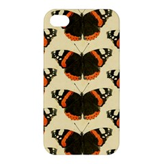 Butterfly Butterflies Insects Apple Iphone 4/4s Premium Hardshell Case