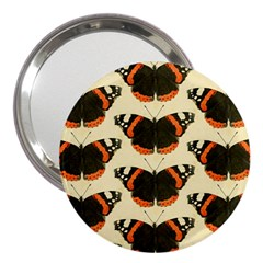 Butterfly Butterflies Insects 3  Handbag Mirrors