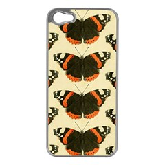 Butterfly Butterflies Insects Apple Iphone 5 Case (silver)