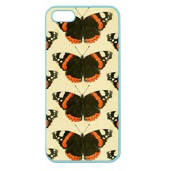 Butterfly Butterflies Insects Apple Seamless Iphone 5 Case (color)