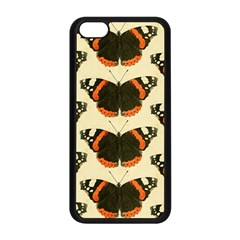 Butterfly Butterflies Insects Apple Iphone 5c Seamless Case (black)