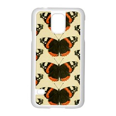 Butterfly Butterflies Insects Samsung Galaxy S5 Case (white)