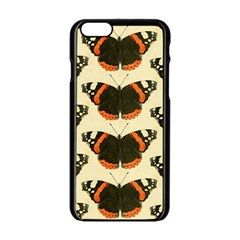 Butterfly Butterflies Insects Apple Iphone 6/6s Black Enamel Case