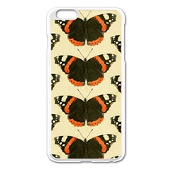 Butterfly Butterflies Insects Apple Iphone 6 Plus/6s Plus Enamel White Case