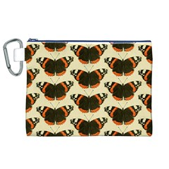 Butterfly Butterflies Insects Canvas Cosmetic Bag (xl)
