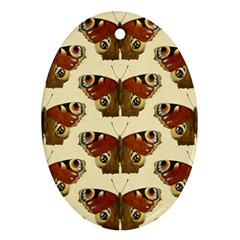 Butterfly Butterflies Insects Ornament (oval)