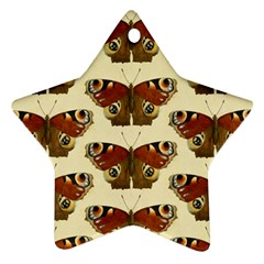 Butterfly Butterflies Insects Ornament (star)