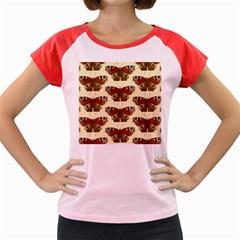 Butterfly Butterflies Insects Women s Cap Sleeve T Shirt