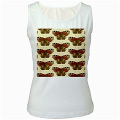 Butterfly Butterflies Insects Women s White Tank Top