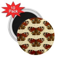 Butterfly Butterflies Insects 2 25  Magnets (10 Pack)