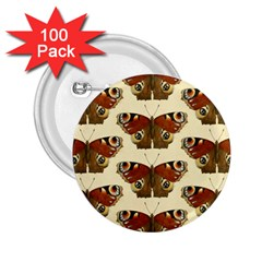 Butterfly Butterflies Insects 2.25  Buttons (100 pack)