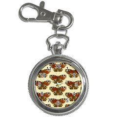 Butterfly Butterflies Insects Key Chain Watches