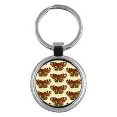 Butterfly Butterflies Insects Key Chains (round)
