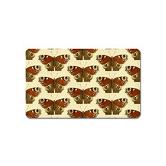 Butterfly Butterflies Insects Magnet (name Card)