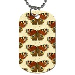 Butterfly Butterflies Insects Dog Tag (Two Sides) Back