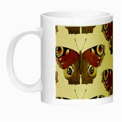 Butterfly Butterflies Insects Night Luminous Mugs