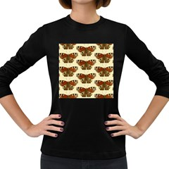 Butterfly Butterflies Insects Women s Long Sleeve Dark T Shirts