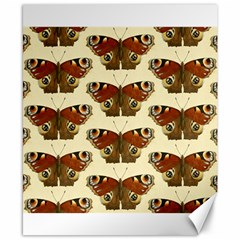 Butterfly Butterflies Insects Canvas 8  X 10