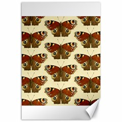 Butterfly Butterflies Insects Canvas 24  X 36
