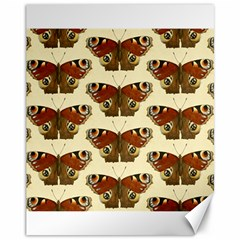 Butterfly Butterflies Insects Canvas 11  X 14