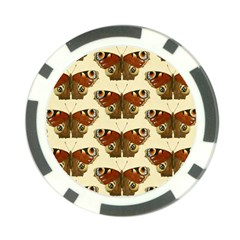 Butterfly Butterflies Insects Poker Chip Card Guard