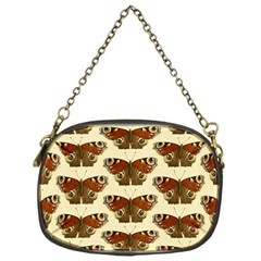 Butterfly Butterflies Insects Chain Purses (one Side)