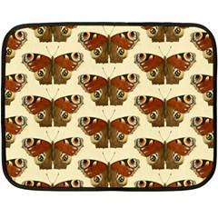 Butterfly Butterflies Insects Double Sided Fleece Blanket (mini)