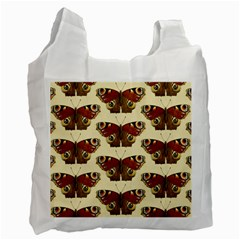 Butterfly Butterflies Insects Recycle Bag (One Side)
