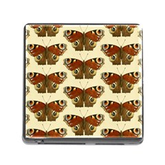 Butterfly Butterflies Insects Memory Card Reader (square)