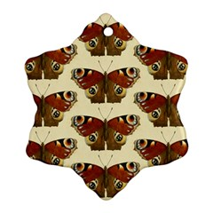 Butterfly Butterflies Insects Ornament (snowflake)