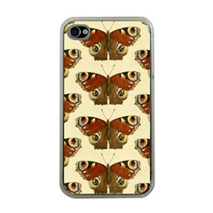 Butterfly Butterflies Insects Apple Iphone 4 Case (clear)