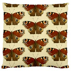 Butterfly Butterflies Insects Large Cushion Case (two Sides)