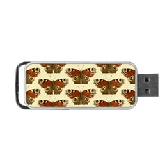 Butterfly Butterflies Insects Portable Usb Flash (two Sides)