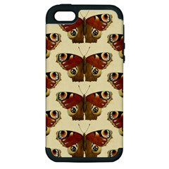 Butterfly Butterflies Insects Apple Iphone 5 Hardshell Case (pc+silicone)