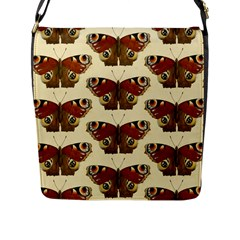 Butterfly Butterflies Insects Flap Messenger Bag (l)