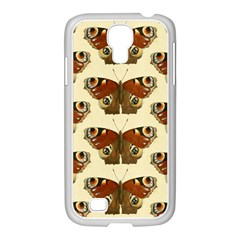 Butterfly Butterflies Insects Samsung Galaxy S4 I9500/ I9505 Case (white)