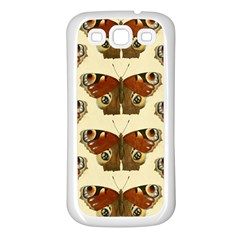Butterfly Butterflies Insects Samsung Galaxy S3 Back Case (white)