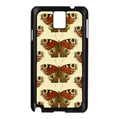 Butterfly Butterflies Insects Samsung Galaxy Note 3 N9005 Case (black)