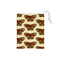 Butterfly Butterflies Insects Drawstring Pouches (small)