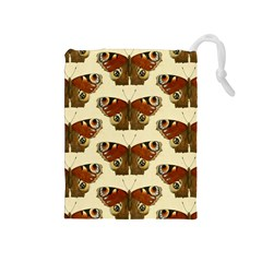 Butterfly Butterflies Insects Drawstring Pouches (medium)