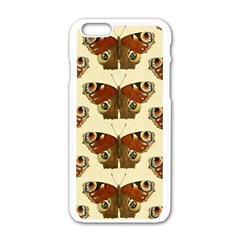 Butterfly Butterflies Insects Apple Iphone 6/6s White Enamel Case