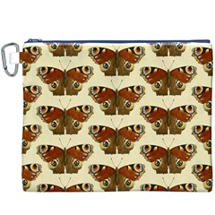 Butterfly Butterflies Insects Canvas Cosmetic Bag (xxxl)