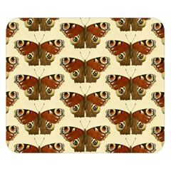 Butterfly Butterflies Insects Double Sided Flano Blanket (small)