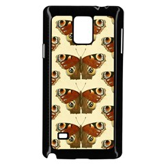 Butterfly Butterflies Insects Samsung Galaxy Note 4 Case (black)