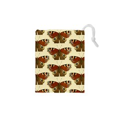 Butterfly Butterflies Insects Drawstring Pouches (xs)
