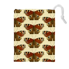 Butterfly Butterflies Insects Drawstring Pouches (extra Large)