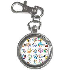 Colorful Prismatic Rainbow Animal Key Chain Watches