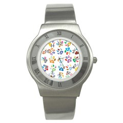 Colorful Prismatic Rainbow Animal Stainless Steel Watch